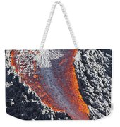 Lava Flow On The Flank Of Pacaya Weekender Tote Bag
