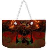 Red Hot Lava Weekender Tote Bag