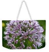 Lavender Globe Lily Weekender Tote Bag