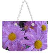 Lavender Mum Bouquets Weekender Tote Bag