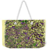 Lavish Leaves 6 Weekender Tote Bag