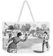 Lawn Tennis, 1883 Weekender Tote Bag