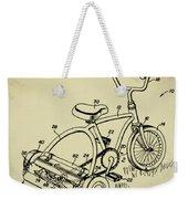 Lawnmower Tricycle Patent Weekender Tote Bag