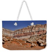 Layered Cliffs Weekender Tote Bag