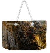 Layered Realities Abstract Composition Painting Print Weekender Tote Bag