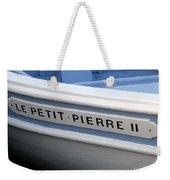 Le Petit Pierre II Weekender Tote Bag