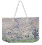 Le Ragas Near Toulon Weekender Tote Bag by Camille Pissarro