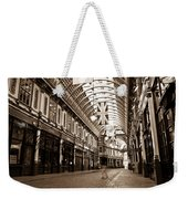 Leadenhall Market London With  Weekender Tote Bag