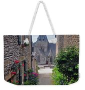 Leading To The Church Provence France Weekender Tote Bag