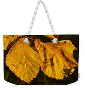 Leaf 3 Weekender Tote Bag
