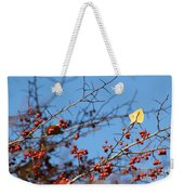 Leaf Among Thorns Weekender Tote Bag