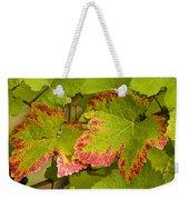 Leaf Design Weekender Tote Bag