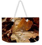 Leaf Doplets Weekender Tote Bag by LeeAnn McLaneGoetz McLaneGoetzStudioLLCcom