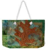 Leaf Life 01 - Green 01b2 Weekender Tote Bag