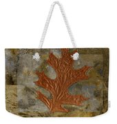 Leaf Life 01 -brown 01b2 Weekender Tote Bag