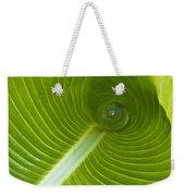 Leaf Tube Weekender Tote Bag
