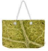 Leaf Vascularization Weekender Tote Bag
