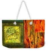 Leaf Whisper 3 Weekender Tote Bag