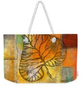 Leaf Whisper 4 Weekender Tote Bag