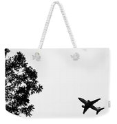 Leafing On A Jet Plane Weekender Tote Bag