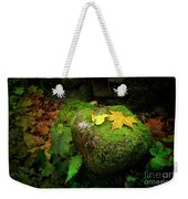 Leafs On Rock Weekender Tote Bag