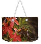 Leafy Weekender Tote Bag