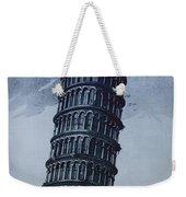 Leaning Tower Of Pisa Weekender Tote Bag