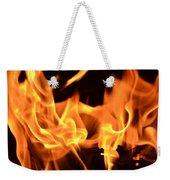 Leaping Flames Weekender Tote Bag