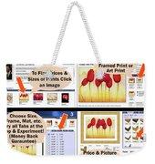 Learn How It Works Weekender Tote Bag