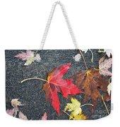 Leave The Leaves Weekender Tote Bag