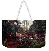 Leaves In The Forest Weekender Tote Bag