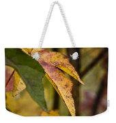 Leaves Of Fall Weekender Tote Bag