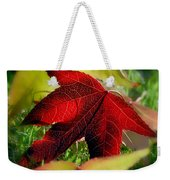 Leaves Of Grass Weekender Tote Bag