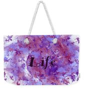 Leaves Of Life Weekender Tote Bag