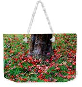 Leaves On The Ground Weekender Tote Bag