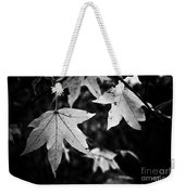 Leaves Without Color Weekender Tote Bag
