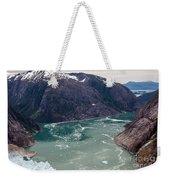 Leconte Glacier Weekender Tote Bag by Mike Reid