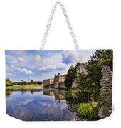Leeds Castle Kent England Weekender Tote Bag