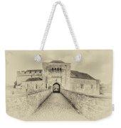 Leeds Castle Nostalgic 3 Weekender Tote Bag