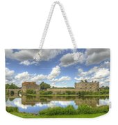 Leeds Castle Reflected Weekender Tote Bag
