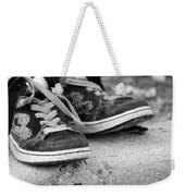 Left On The Curb Bw Weekender Tote Bag