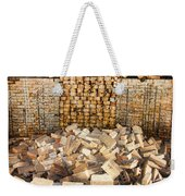 Left Over Brick In Antique Brick Kiln Weekender Tote Bag