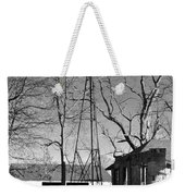 Left Standing Weekender Tote Bag