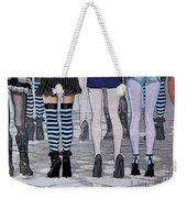 Legs Weekender Tote Bag by Jutta Maria Pusl