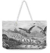 Lemming Migration Weekender Tote Bag