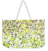 Lemon Lime Abstract Weekender Tote Bag