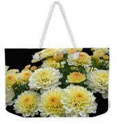 Lemon Meringue Chrysanthemums Weekender Tote Bag
