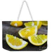 Lemon Quarters Weekender Tote Bag