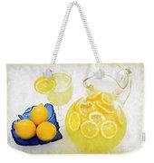 Lemonade And Summertime Weekender Tote Bag