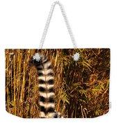 Lemur Tail Weekender Tote Bag